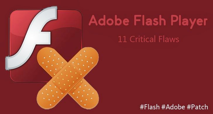 Adobe Flash Player Update Patches 11 Critical Vulnerabilities