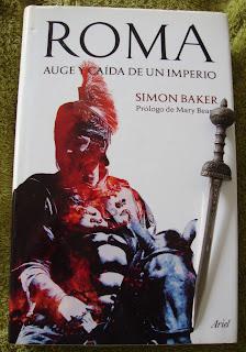 Portada del libro Roma. Auge y caída de un imperio, de Simon Baker