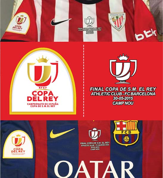 The 2015 Copa del Rey Final patch and match details as under request. The  111th edition of the Copa del Rey 89fad31e5