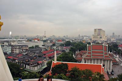 Der Tempel des Golden Mountain Bangkok