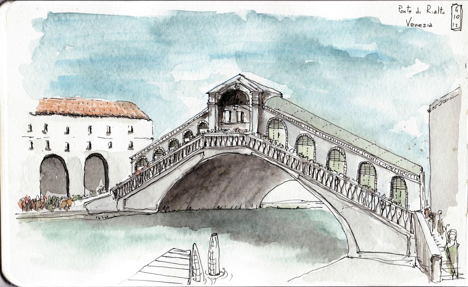 Taccuino Pellegrino Ponte Di Rialto