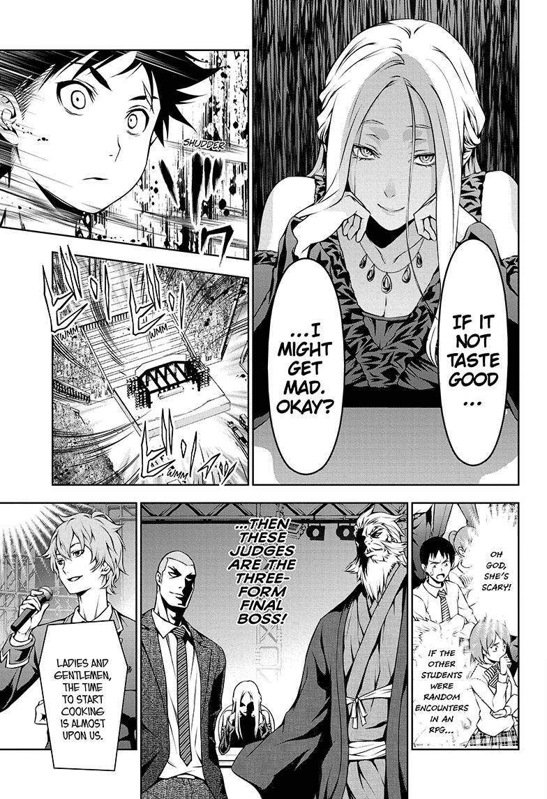 Shokugeki no Soma - Chapter 108