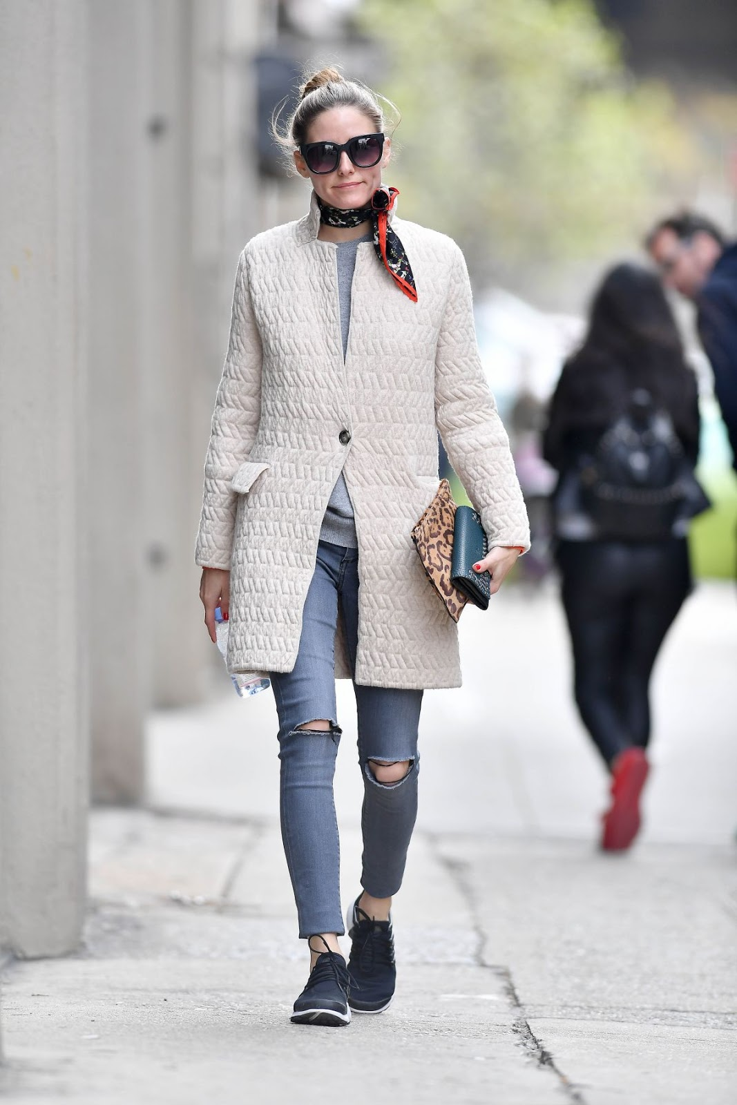The Olivia Palermo Lookbook Olivia Palermo Out In New York
