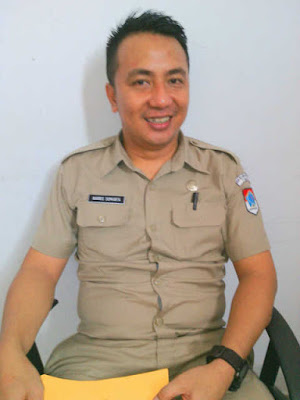 Kepala Unit Pelayanan Pengadaan Boltim, Haris Sumanta