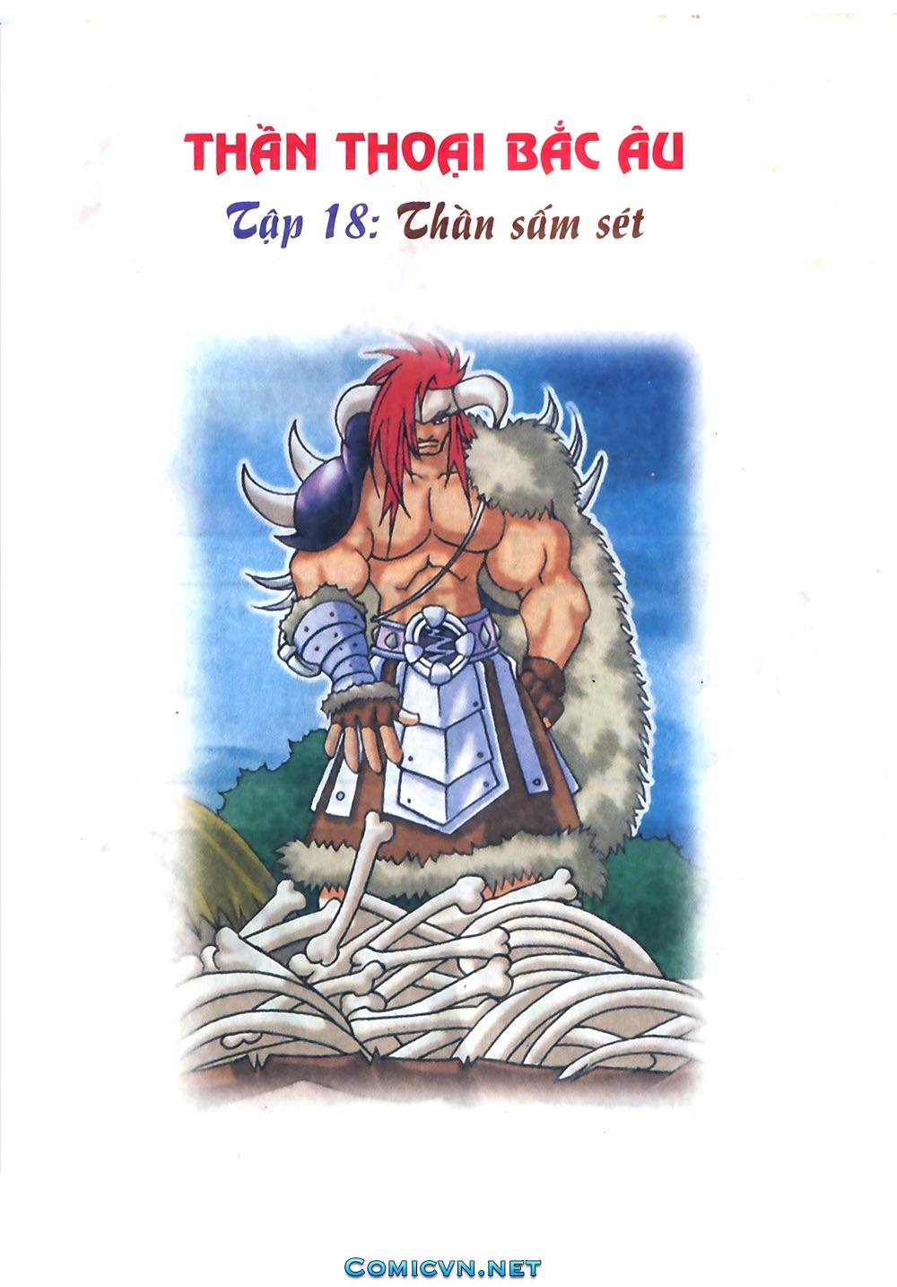Thần thoại Bắc Âu - Chapter 18: Thần sấm sét - Pic 2