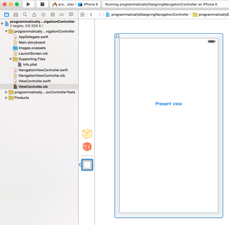 Swift World: How to design the Navigation Controller