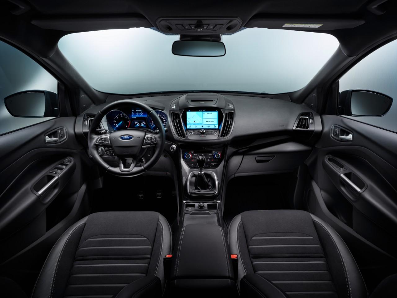 FORD KUGA MS Dashboard 05 NAVI eciRGB Η Ford Αποκαλύπτει το Νέο Kuga με πληθώρα νέων τεχνολογιών και με νέο κινητήρα 1.5L TDCi diesel 120 ίππων