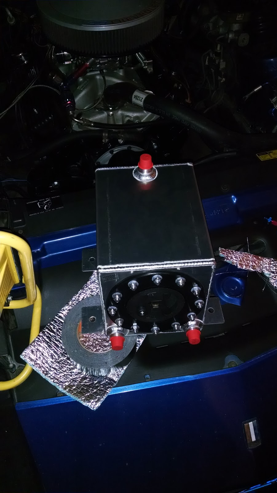 Stand Alone Fuel System for Nitrous   Burton Racing