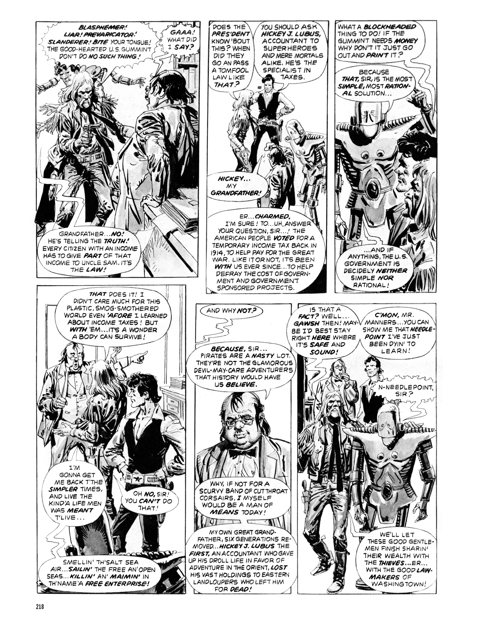Read online Eerie Archives comic -  Issue # TPB 20 - 218
