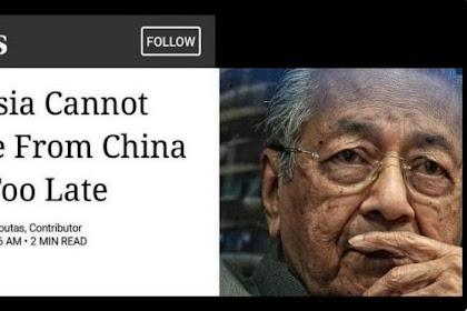 Terlambat, Malaysia Tak Bisa Lagi Lepas dari Perangkap RRC