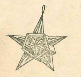 как сделать объемную звезду