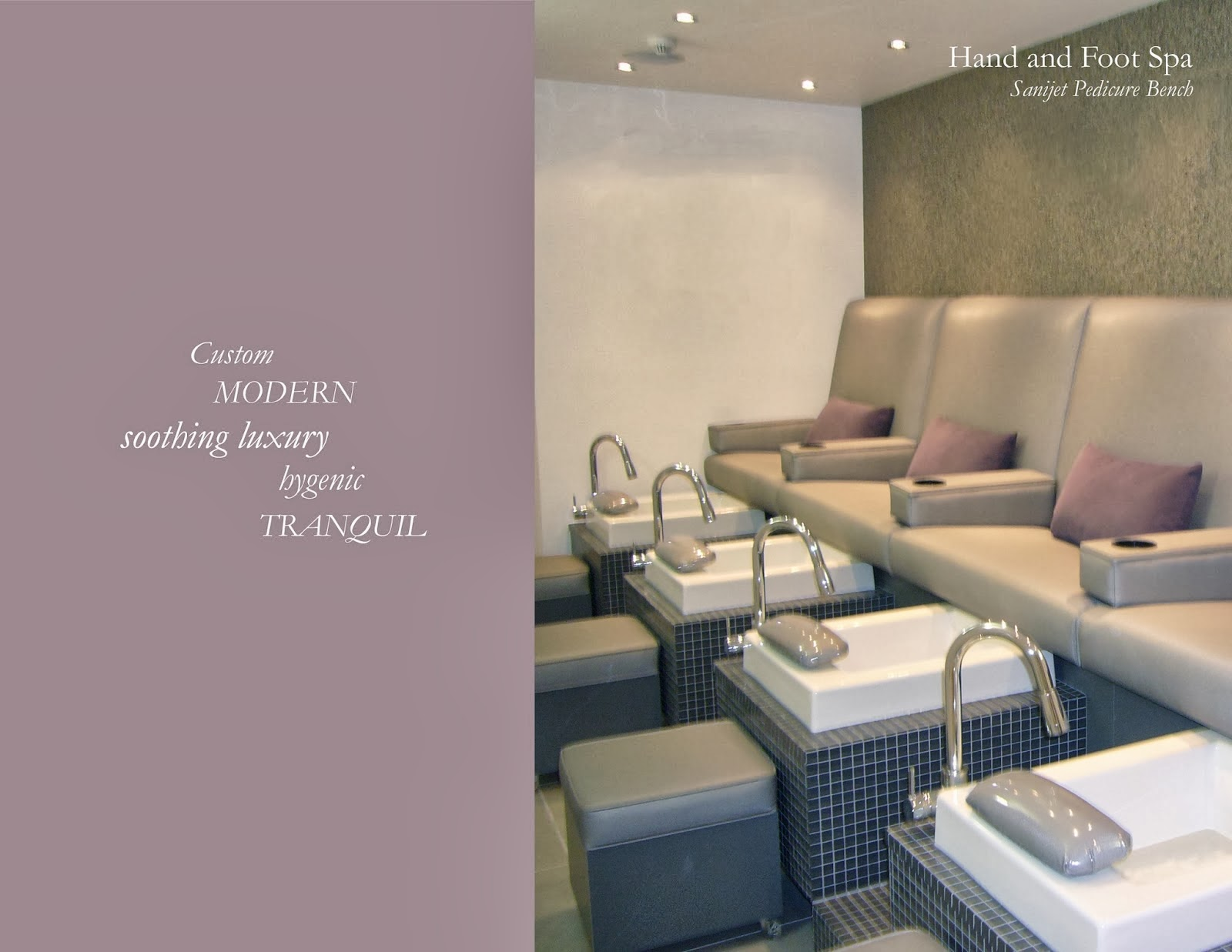 Michele Pelafas  Nail Spa   Salon Design We have extensive experience in the design and development of nail spa and  salon interiors