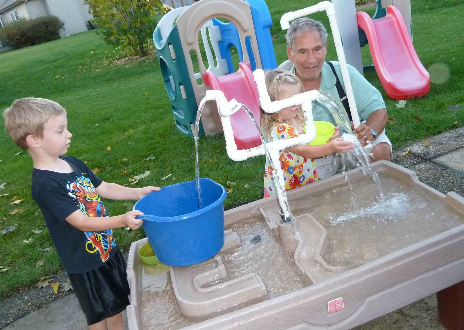 Sometimes Creative Sand Table Into Waterworks
