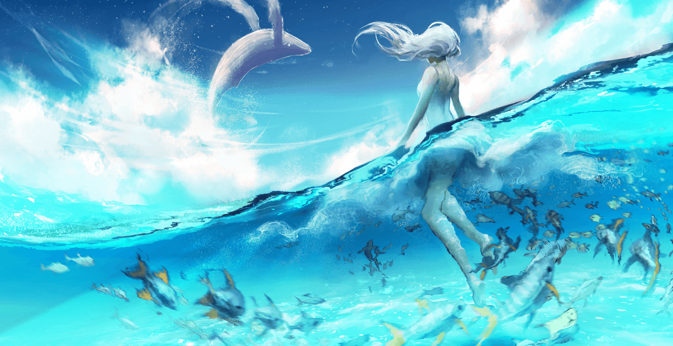 our blue planet by yuumei [Wallpaper Engine Free]