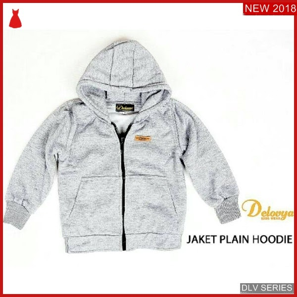 DLV44J39 Jaket Plain Anak Hoodie Atasan Anak Balita Murah BMG