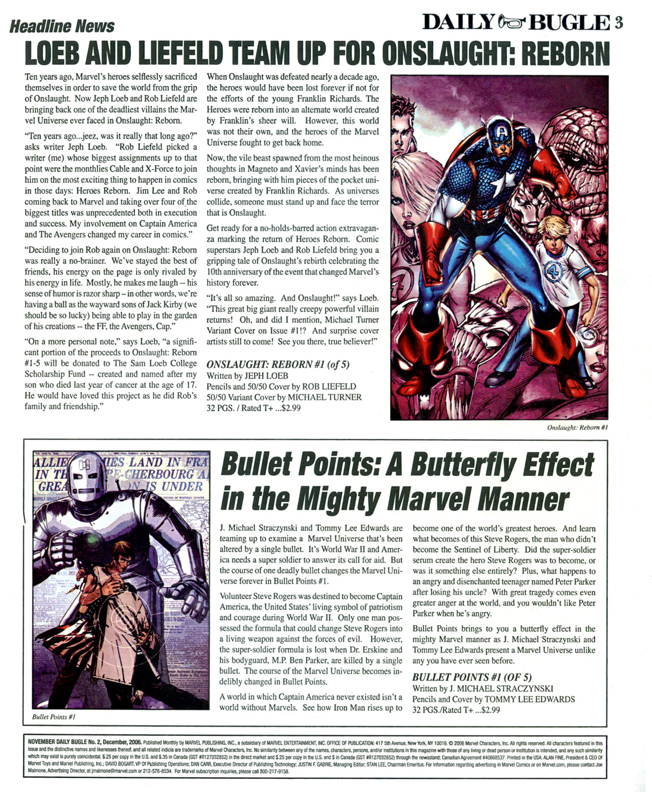 Read online Daily Bugle (2006) comic -  Issue #2 - 4