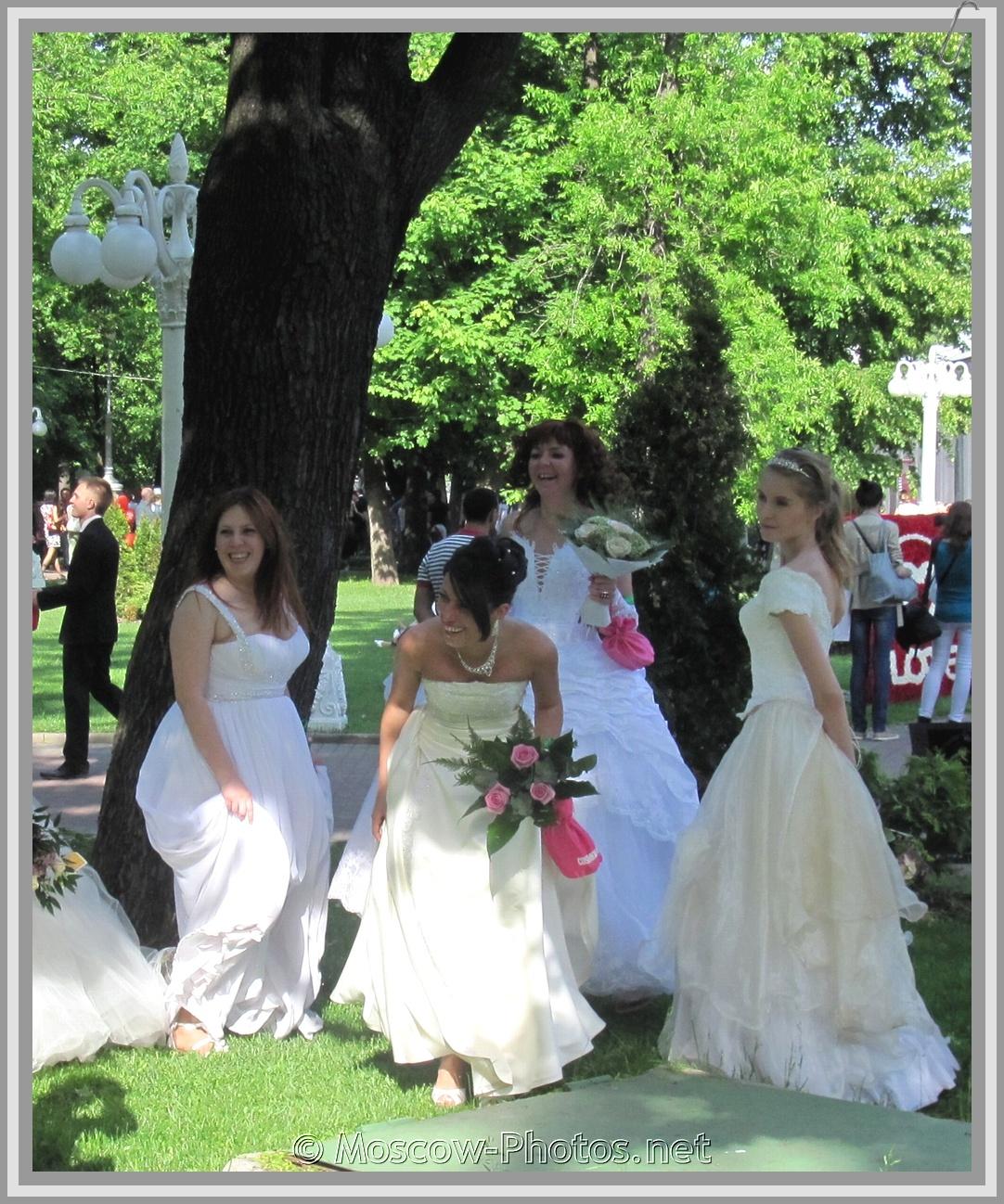 Smiling Russian Runaway Brides