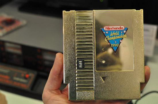Videogames mais raros e caros - Cartucho dourado Nintendo