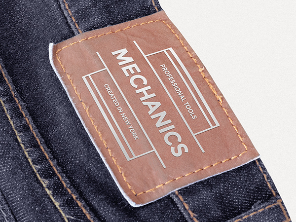 Download Template Mockup Terbaru - Leather Patch Mockup