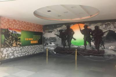Shaurya Smarak, Bhopal :India's first War memorial