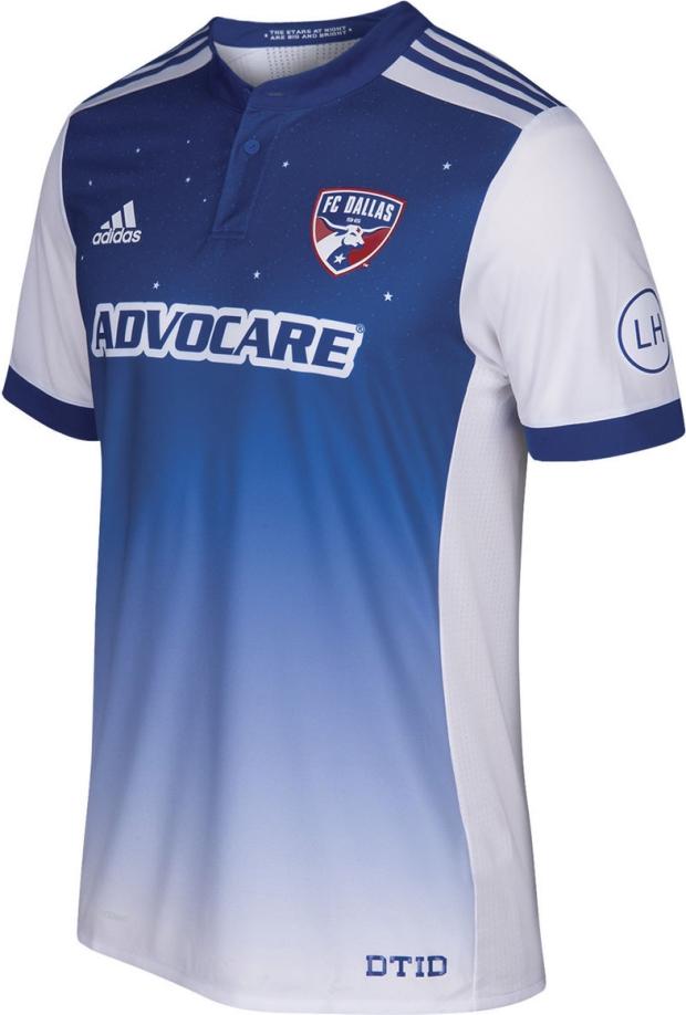 5258ab36be ... Adidas lança a nova camisa reserva do FC Dallas para a MLS 2017 .