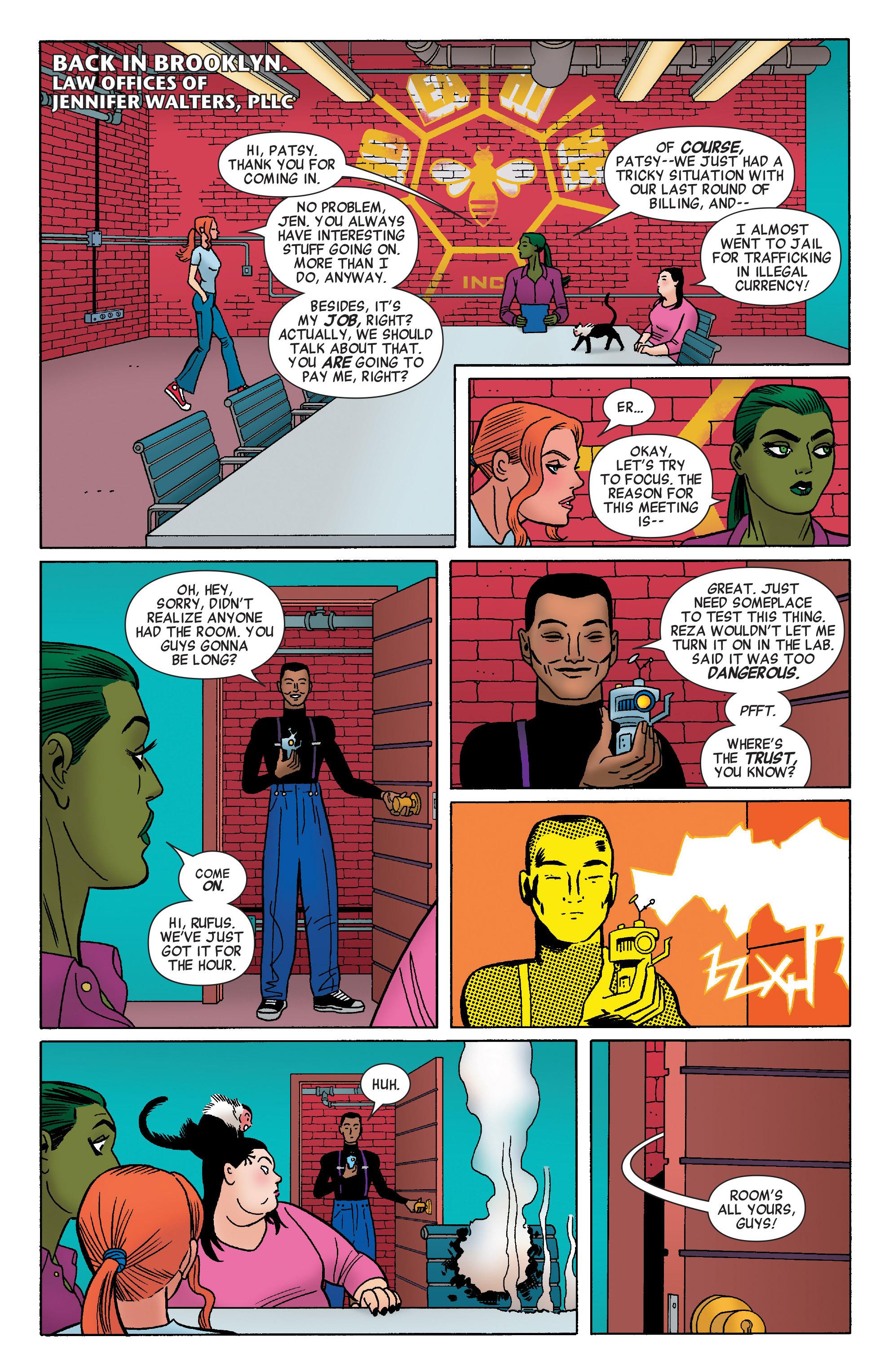 Read online She-Hulk (2014) comic -  Issue #4 - 17