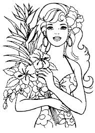 barbie halloween coloring pages for kids 5 - Barbie Halloween Coloring Pages