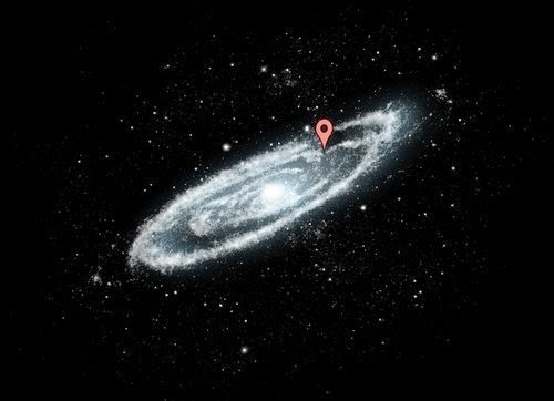 26 Pictures Will Make You Re-Evaluate Your Entire Existence - THAT'S BECAUSE THE MILKY WAY GALAXY IS HUGE. THIS IS WHERE YOU LIVE INSIDE THERE