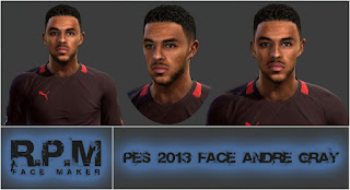 Pes 2013 Andre Gray Face By R.P.M