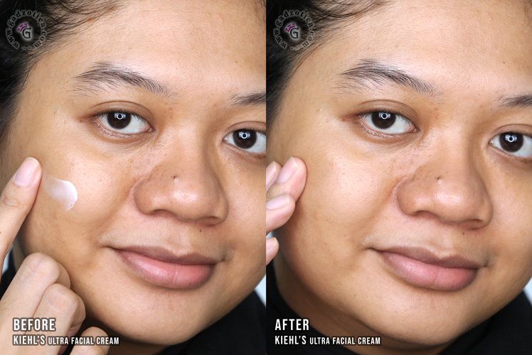 Pemakaian Kiehl's Ultra Facial Cream