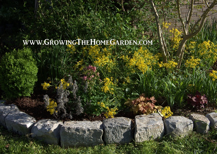 Natural Rocks For Stone Garden Borders, How To Stone Garden Border