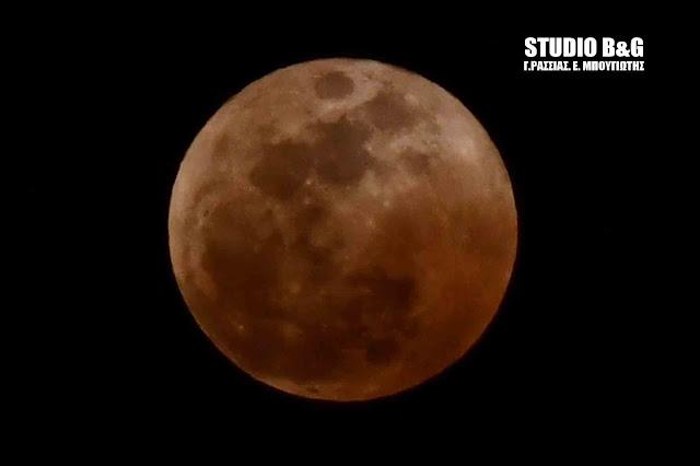 Θα σεληνιαστούμε την Τρίτη το βράδυ με πανσέληνο και έκλειψη