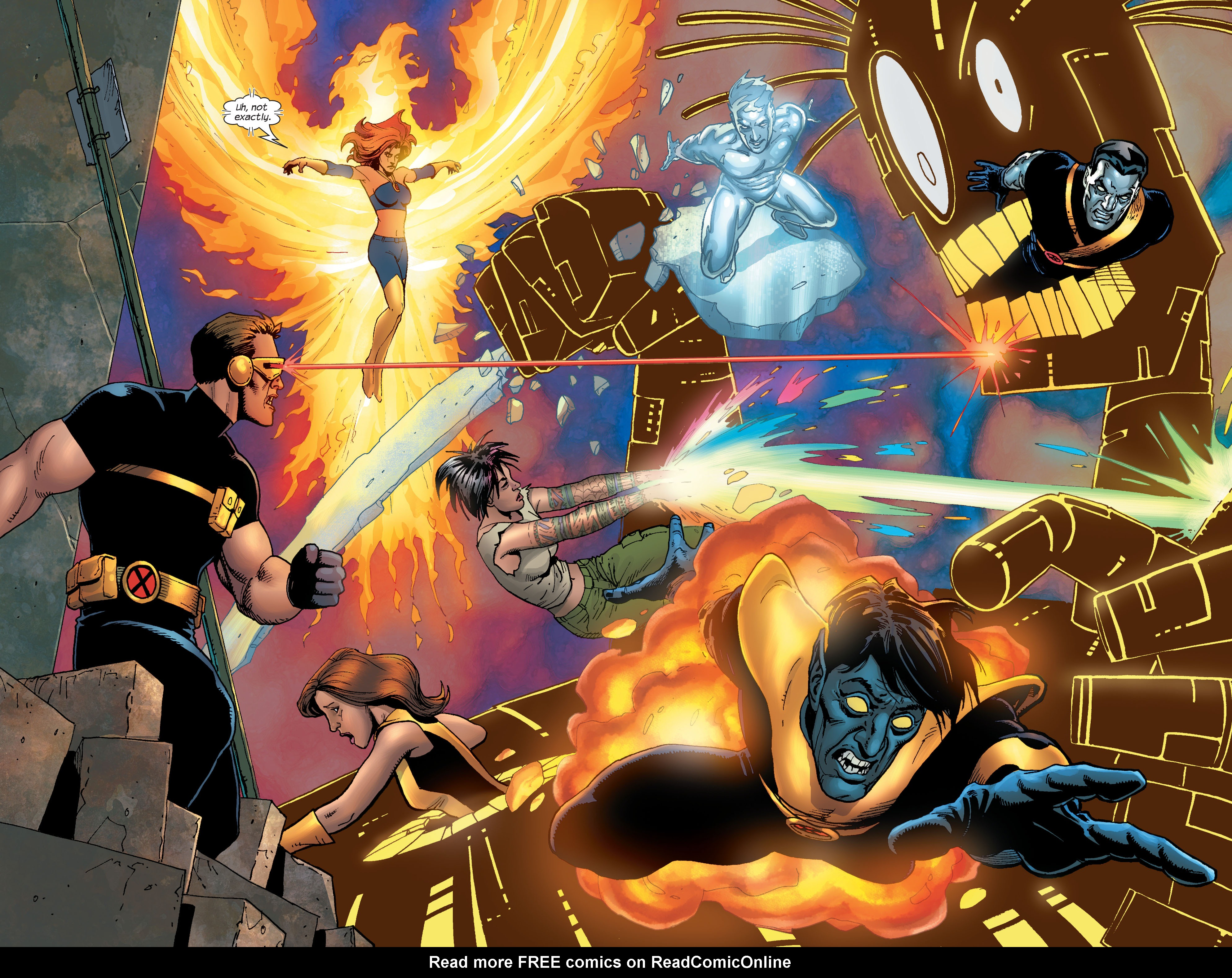 Read online Ultimate X-Men comic -  Issue #58 - 9