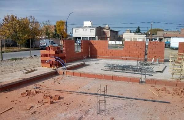 El IPPV continúa la construcción de 22 viviendas en Roca