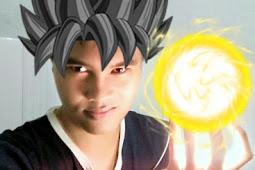 Membuat Foto Seperti Anime Super Power dengan Kamehameha