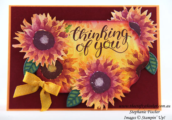 #thecraftythinker, Count My Blessings, Painted Harvest, Sneak Peek, Holiday Catalogue, Stampin' Up Australia Demonstrator, Stephanie Fischer, Sydney NSW