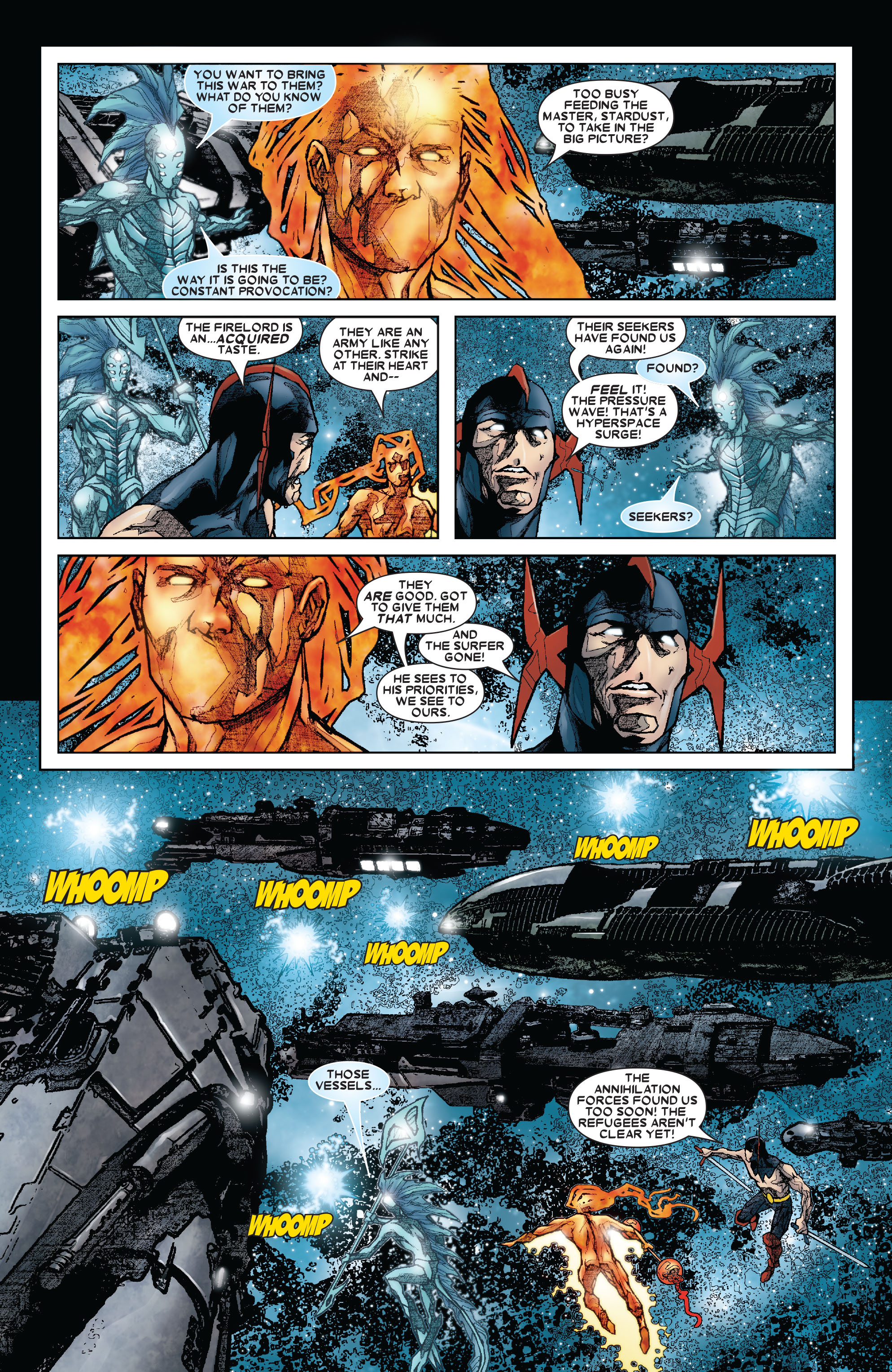 Read online Annihilation: Silver Surfer comic -  Issue #3 - 11