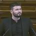 """(VIDEO) Gabriel Rufián llama """"iscariotes"""" al PSOE y """"cuñaos"""" a Ciudadanos"""