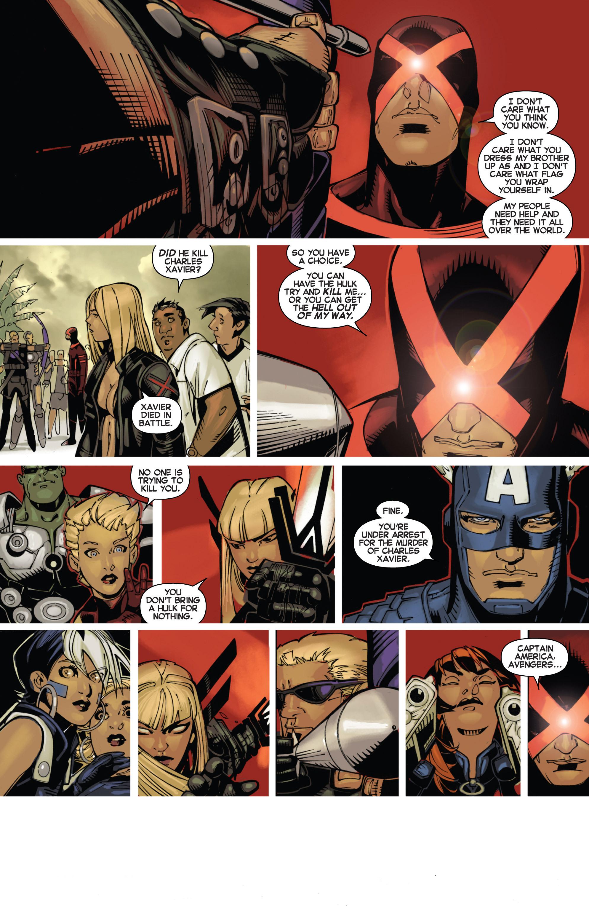 Read online Uncanny X-Men (2013) comic -  Issue #3 - 10