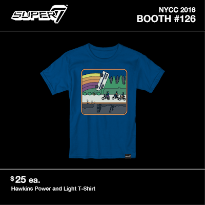 New York Comic Con 2016 Exclusive Pop Culture T-Shirts by Super7