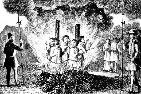 Pembantaian para penyihir di eropa pada abad pertengahan