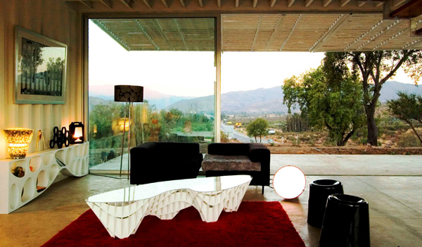 Shipping Container House with Dynamic Facade, Chile 25