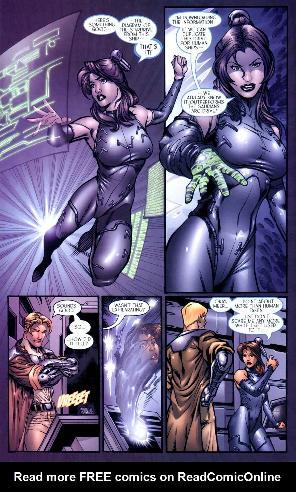 Read online Sigil (2000) comic -  Issue #9 - 21