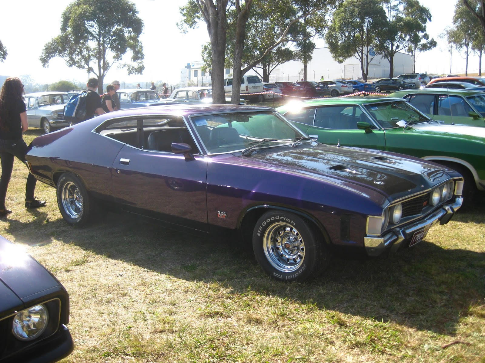 Aussie Old Parked Cars: 1972 Ford XA Falcon GT 351 Hardtop  Aussie Old Park...