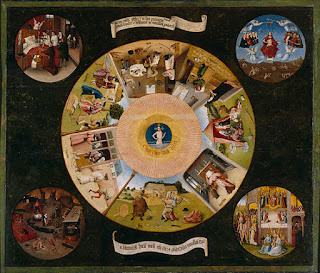ヒエロニムス・ボス、七つの大罪と四終、プラド美術館