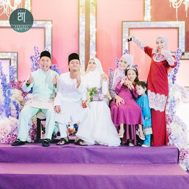 Gambar Pernikahan Jihan Muse Dan Ku Hariz