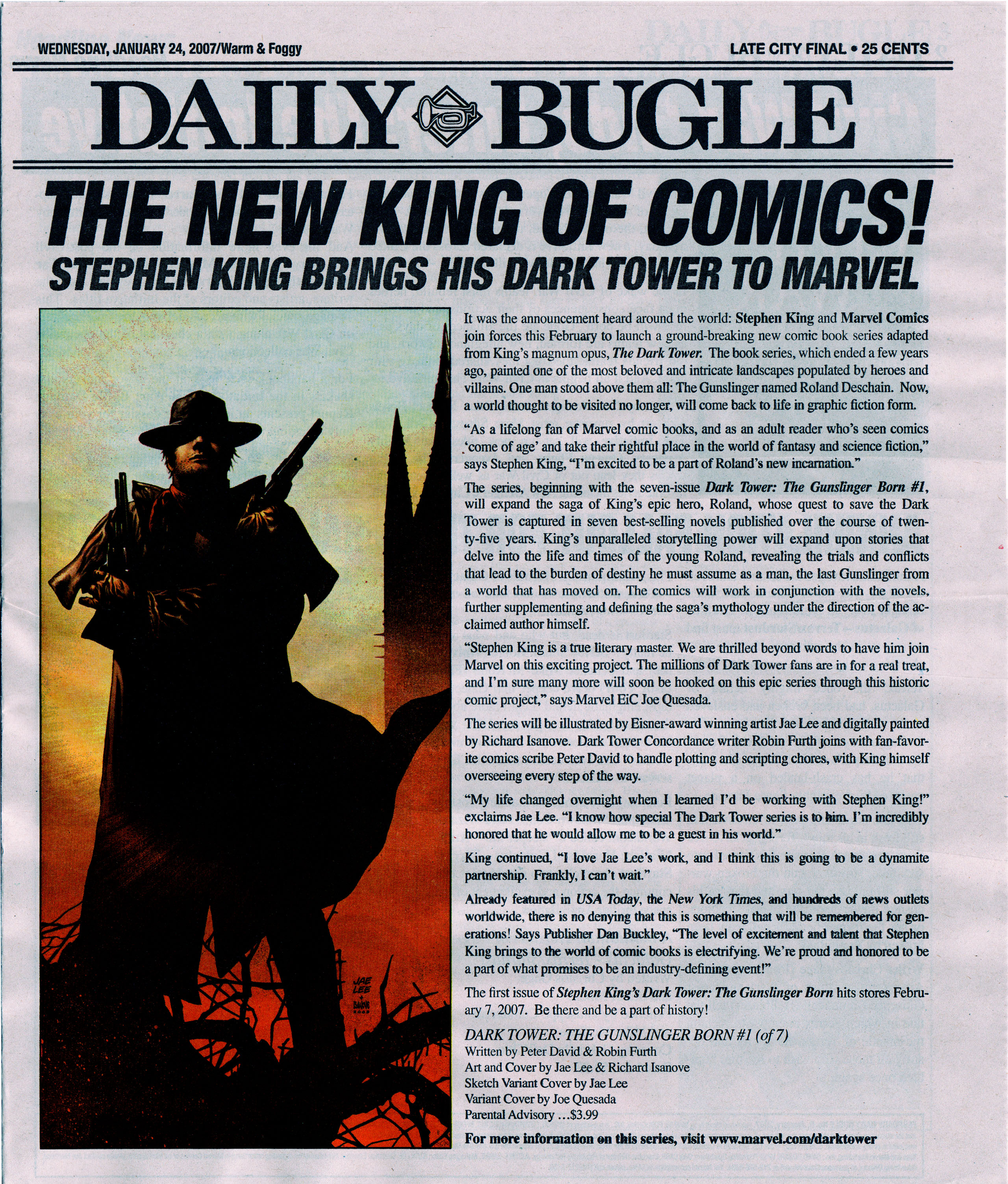 Read online Daily Bugle (2006) comic -  Issue #5 - 2