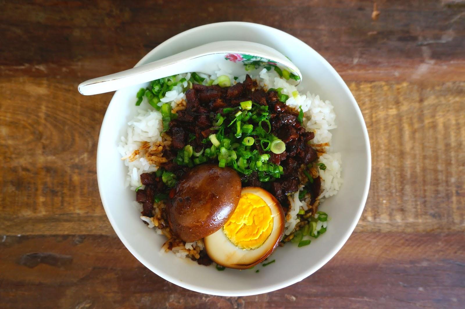 Braised Meat Over Rice (Lu Rou Fan)