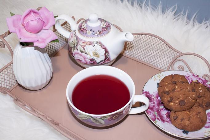 english home set de ceainic cu flori