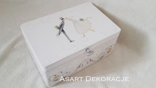 Pudełko Ślubne